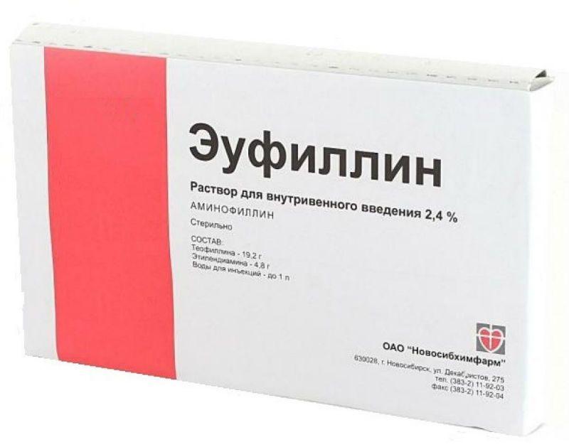 Эуфиллин от отеков при беременности