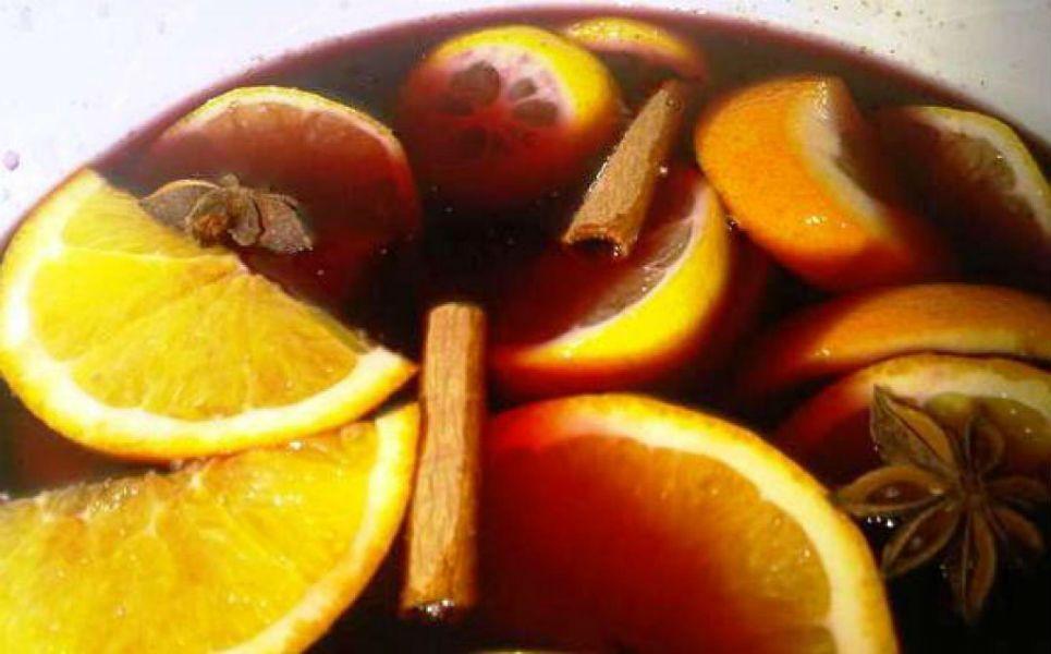 Глинтвейн рецепт классический с апельсином
