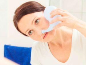Как правильно промывать нос при гайморите видео и чем лучше