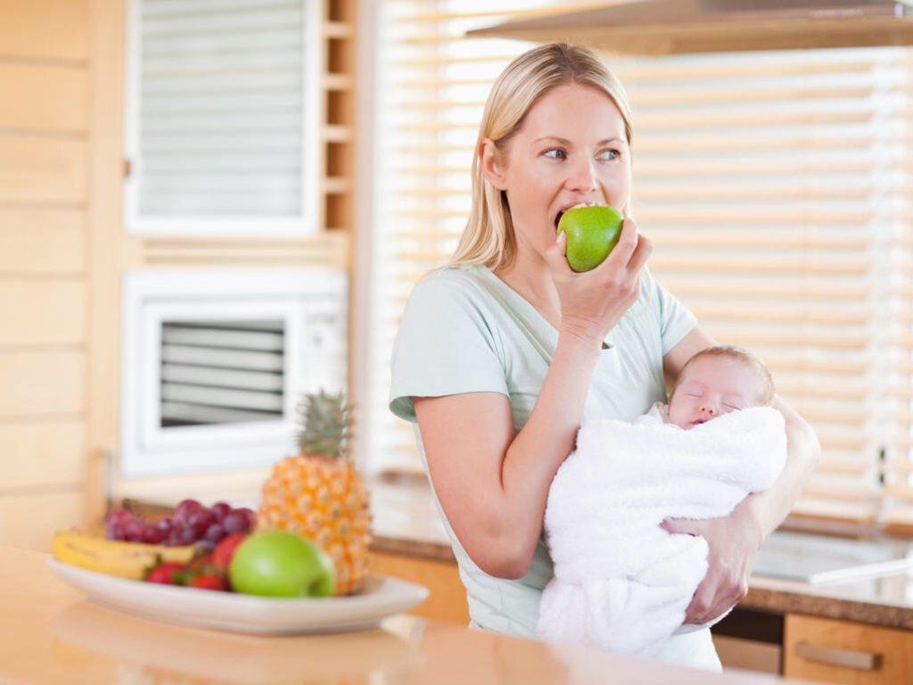 Питание при грудном вскармливании в первый месяц меню