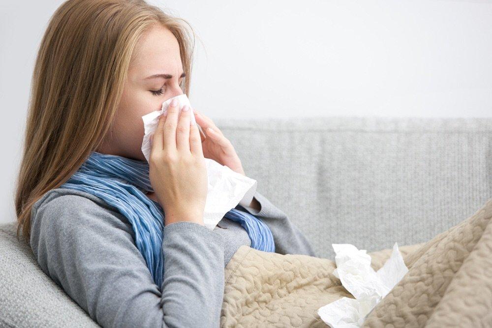 Простуда и инфекция в первые дни беременности