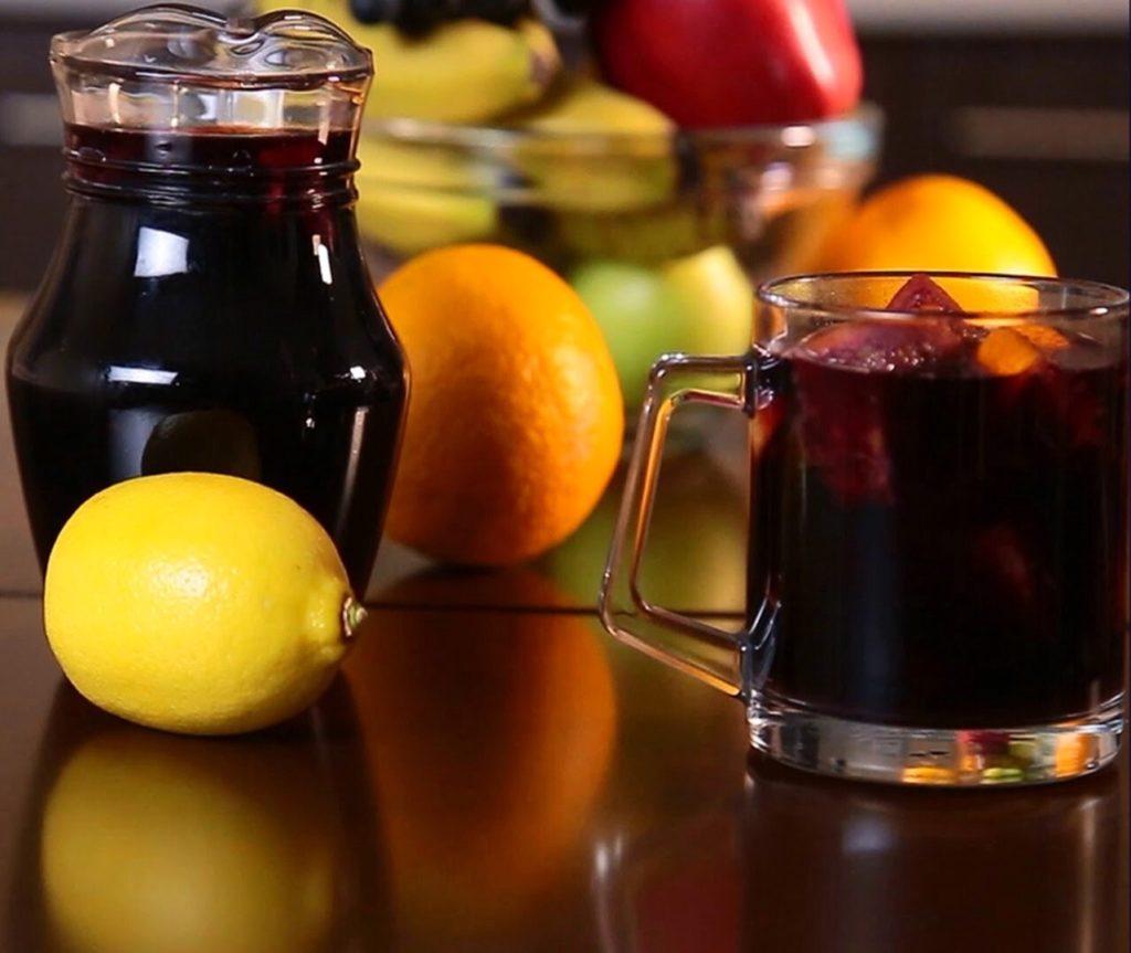 Глинтвейн рецепт классический с апельсином и лимоном