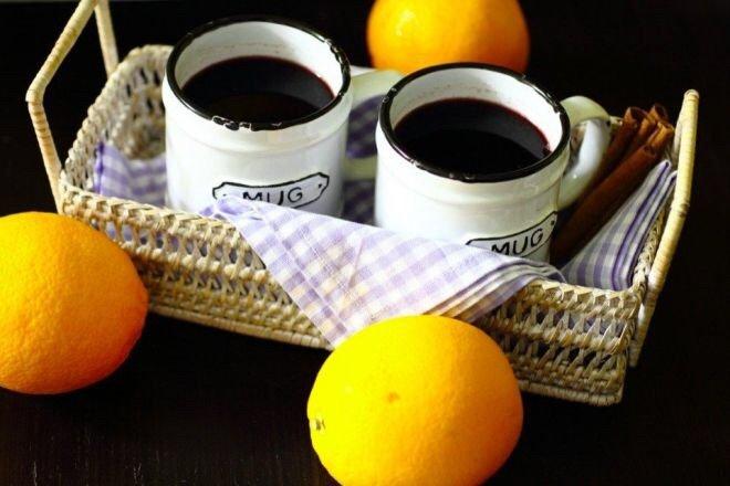 Глинтвейн рецепт классический с апельсином безалкогольный