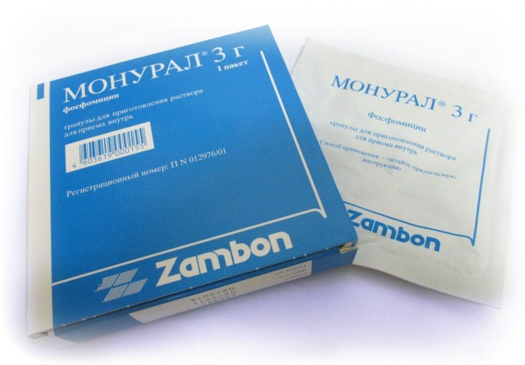Лекарство от цистита при беременности: монурал