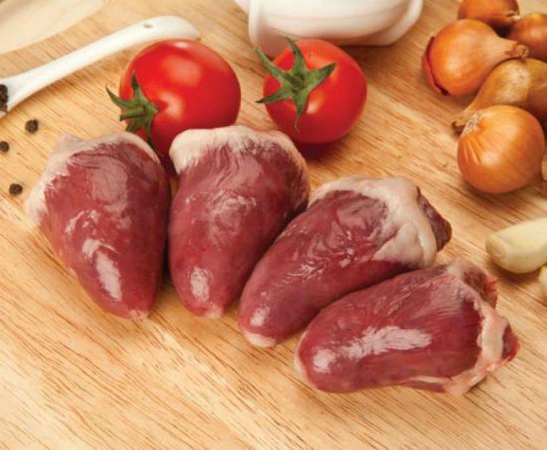 Как приготовить куриные сердечки в сметане