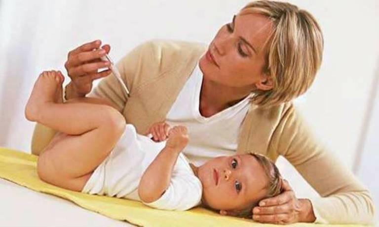 Какая должна быть температура у ребенка в 1 месяц